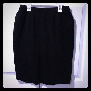 EUC knee length pencil skirt